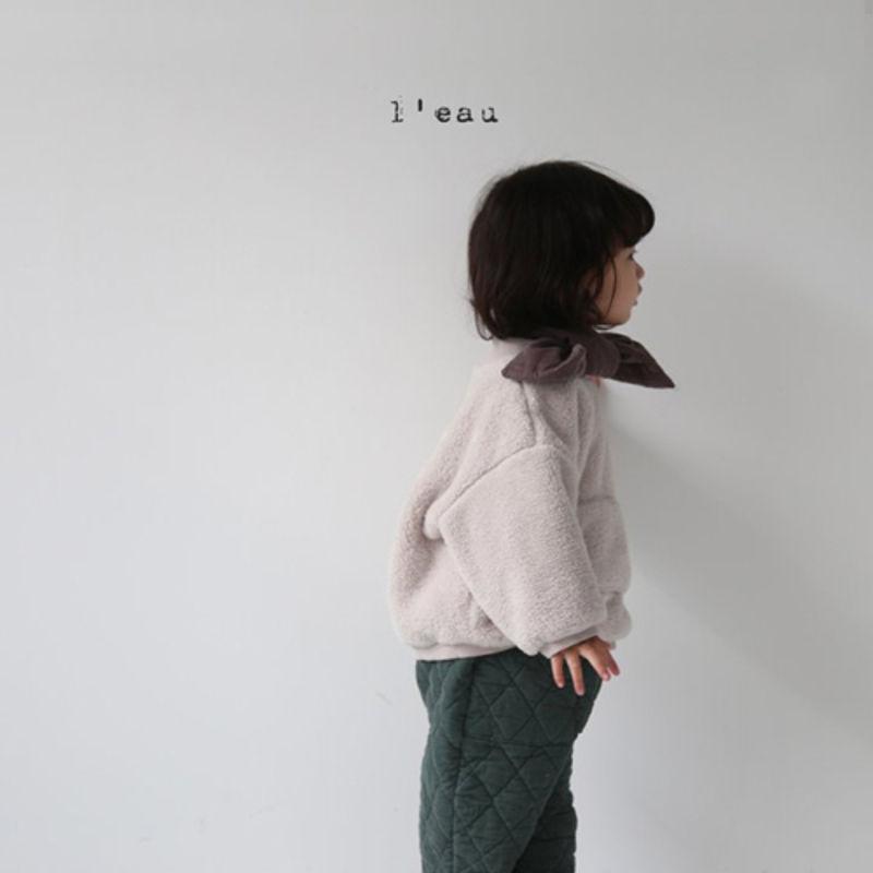 L'EAU - Korean Children Fashion - #Kfashion4kids - Padding Muffler - 4