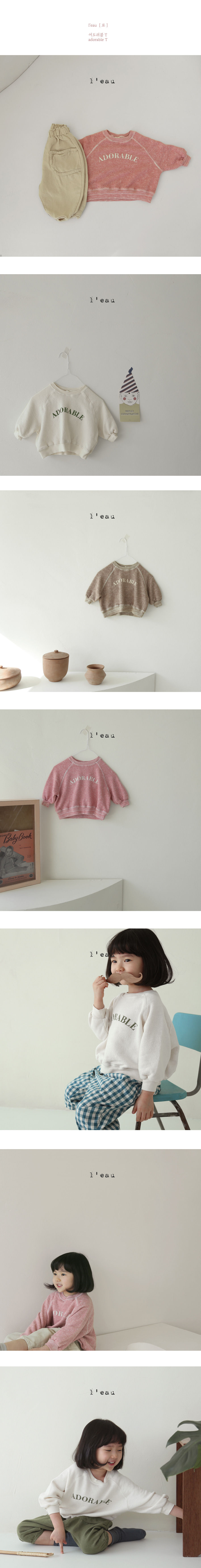 L'EAU - Korean Children Fashion - #Kfashion4kids - Adorable Tee