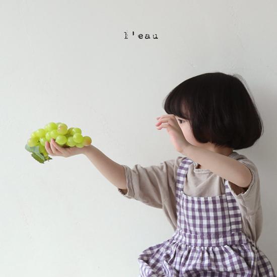 L'EAU - Korean Children Fashion - #Kfashion4kids - Label Simple Tee - 11
