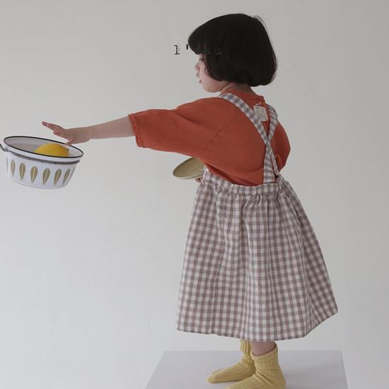 L'EAU - Korean Children Fashion - #Kfashion4kids - Label Simple Tee - 7