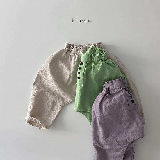 L'EAU - Korean Children Fashion - #Kfashion4kids - Mass Color Pants