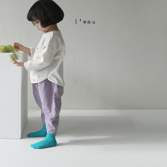 L'EAU - Korean Children Fashion - #Kfashion4kids - Mass Color Pants - 12