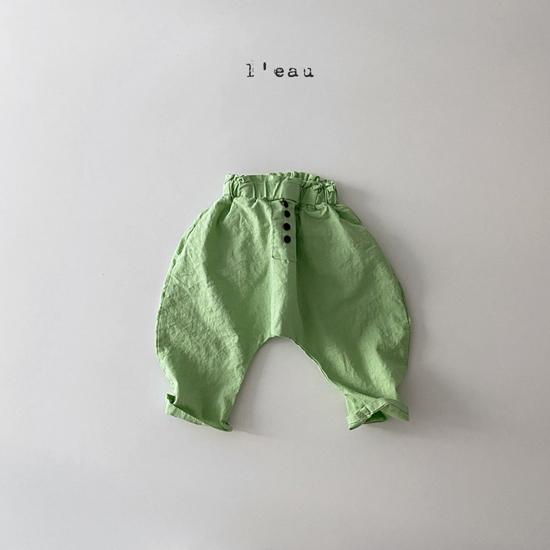 L'EAU - Korean Children Fashion - #Kfashion4kids - Mass Color Pants - 2