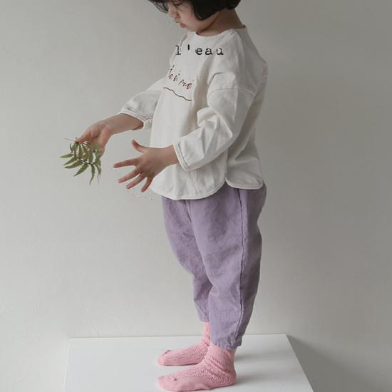 L'EAU - Korean Children Fashion - #Kfashion4kids - Mass Color Pants - 3