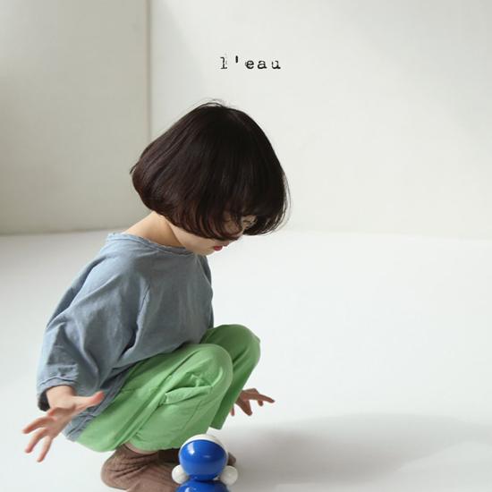 L'EAU - Korean Children Fashion - #Kfashion4kids - Mass Color Pants - 4