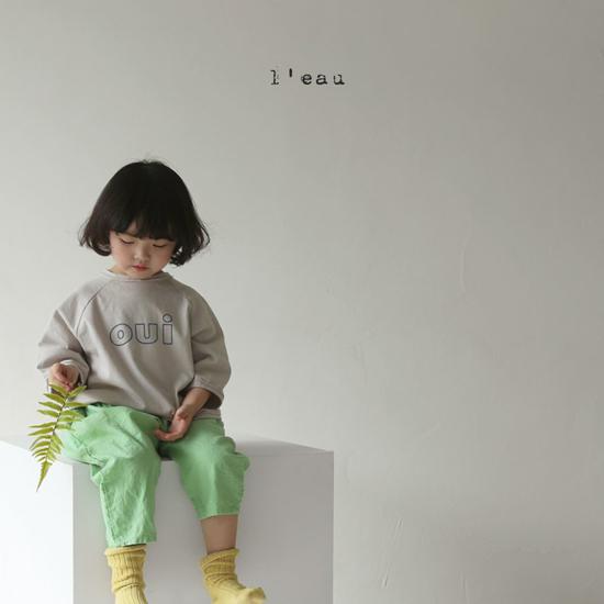 L'EAU - Korean Children Fashion - #Kfashion4kids - Oui Tee - 2