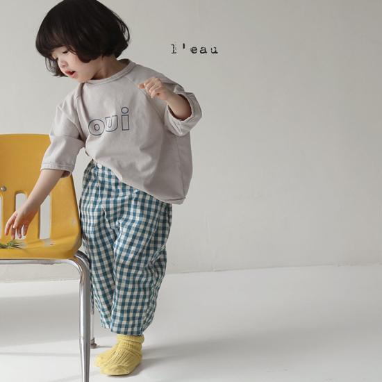 L'EAU - Korean Children Fashion - #Kfashion4kids - Oui Tee - 3