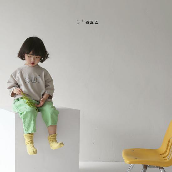 L'EAU - Korean Children Fashion - #Kfashion4kids - Oui Tee - 4