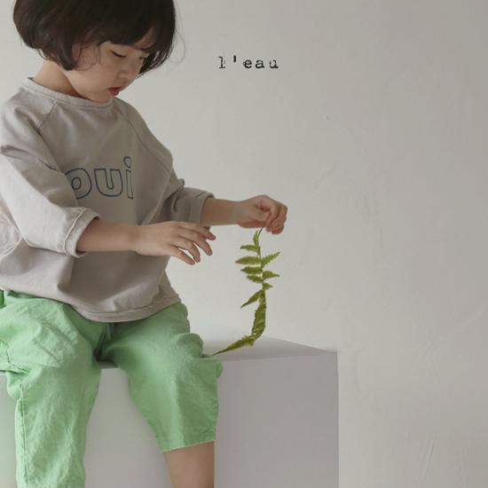 L'EAU - Korean Children Fashion - #Kfashion4kids - Oui Tee - 6
