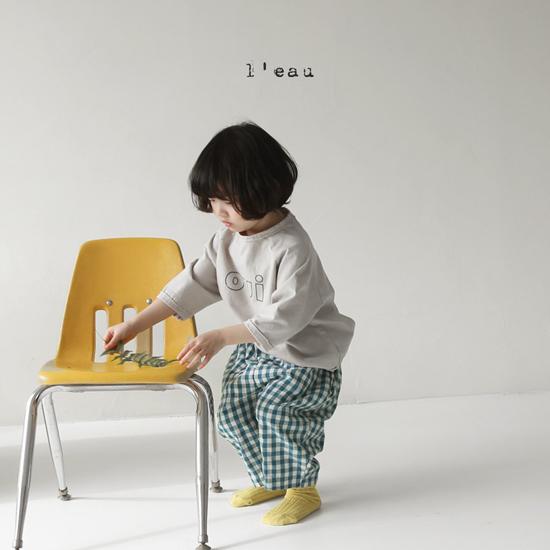 L'EAU - Korean Children Fashion - #Kfashion4kids - Oui Tee - 7