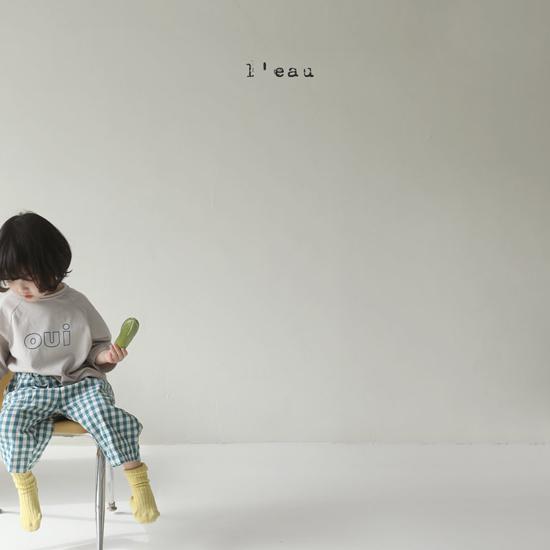 L'EAU - Korean Children Fashion - #Kfashion4kids - Oui Tee - 8