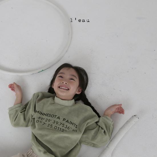 L'EAU - Korean Children Fashion - #Kfashion4kids - Minnesota Tee - 2