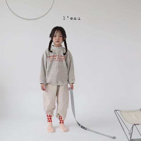 L'EAU - Korean Children Fashion - #Kfashion4kids - Minnesota Tee - 5