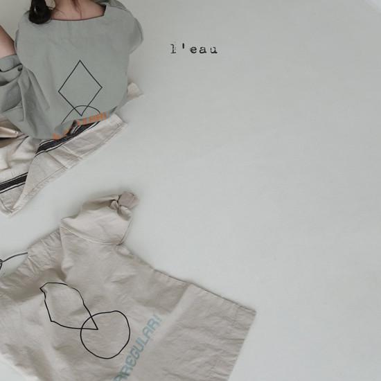 L'EAU - Korean Children Fashion - #Kfashion4kids - Shape One-piece