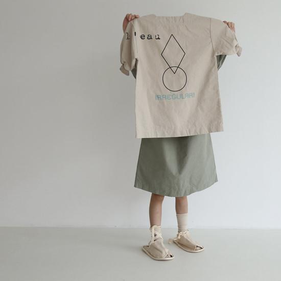 L'EAU - Korean Children Fashion - #Kfashion4kids - Shape One-piece - 10