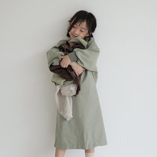 L'EAU - Korean Children Fashion - #Kfashion4kids - Shape One-piece - 11