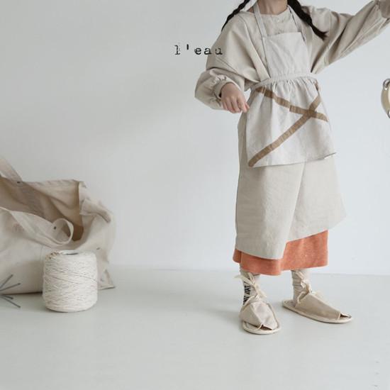 L'EAU - Korean Children Fashion - #Kfashion4kids - Shape One-piece - 12