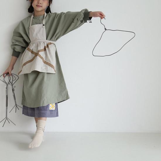 L'EAU - Korean Children Fashion - #Kfashion4kids - Shape One-piece - 4