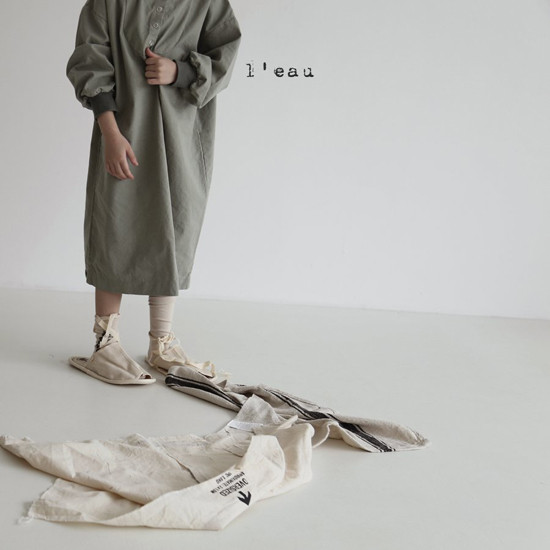 L'EAU - Korean Children Fashion - #Kfashion4kids - Shape One-piece - 5