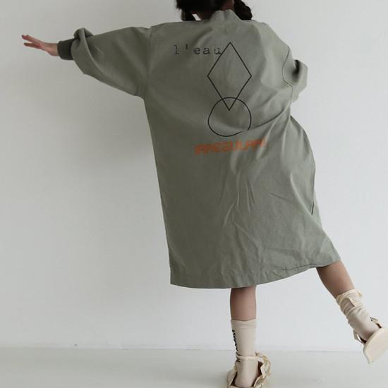 L'EAU - Korean Children Fashion - #Kfashion4kids - Shape One-piece - 7