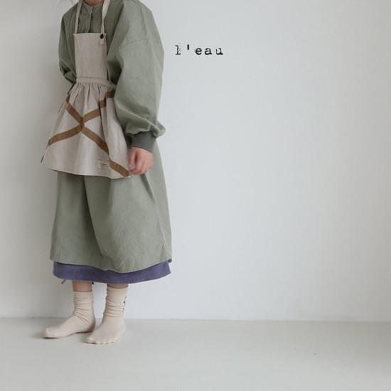 L'EAU - Korean Children Fashion - #Kfashion4kids - Shape One-piece - 8