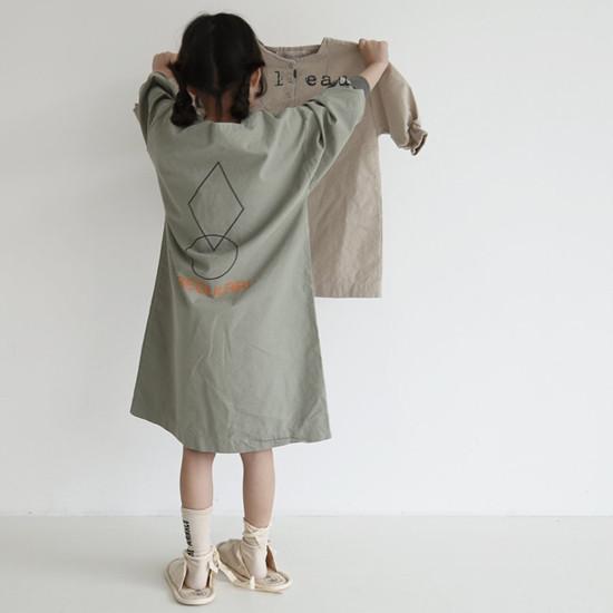 L'EAU - Korean Children Fashion - #Kfashion4kids - Shape One-piece - 9