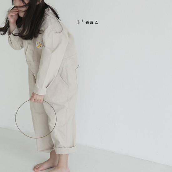 L'EAU - Korean Children Fashion - #Kfashion4kids - Mechanic Jumpsuit - 10