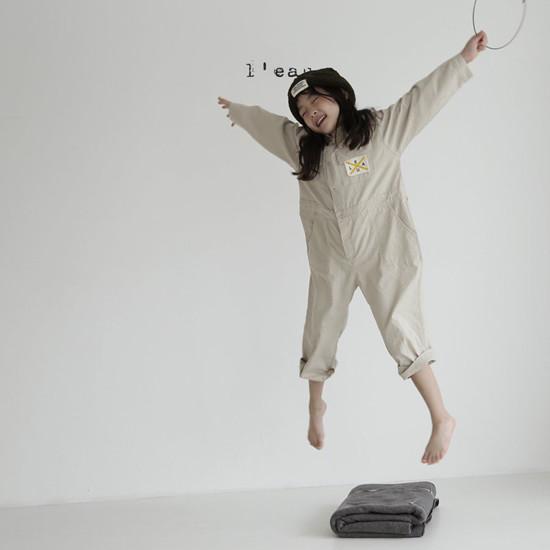 L'EAU - Korean Children Fashion - #Kfashion4kids - Mechanic Jumpsuit - 12