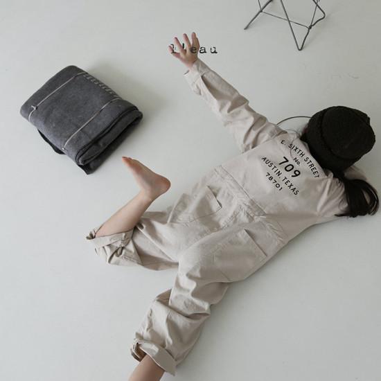 L'EAU - Korean Children Fashion - #Kfashion4kids - Mechanic Jumpsuit - 2