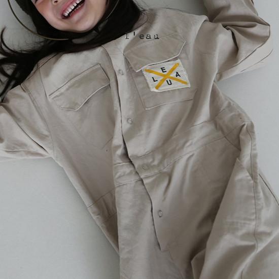 L'EAU - Korean Children Fashion - #Kfashion4kids - Mechanic Jumpsuit - 3