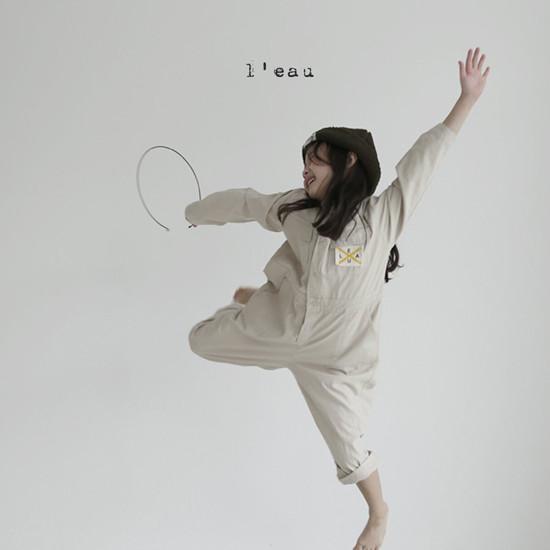 L'EAU - Korean Children Fashion - #Kfashion4kids - Mechanic Jumpsuit - 7