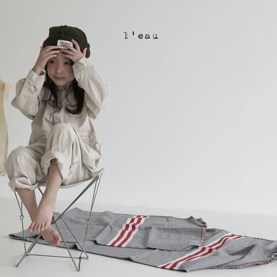 L'EAU - Korean Children Fashion - #Kfashion4kids - Mechanic Jumpsuit - 8