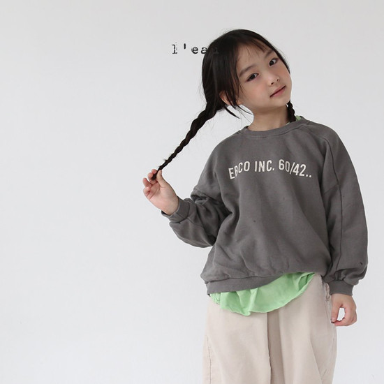 L'EAU - Korean Children Fashion - #Kfashion4kids - Back Slit MTM