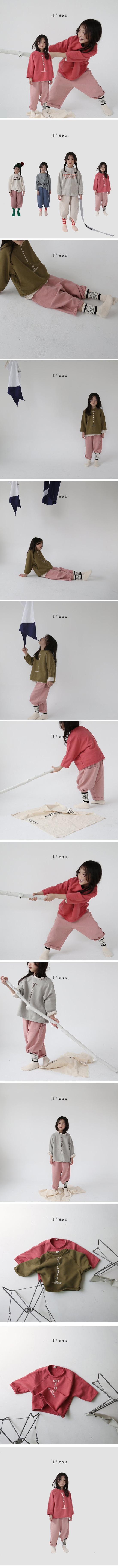 L'EAU - Korean Children Fashion - #Kfashion4kids - Vertial Tee - 2