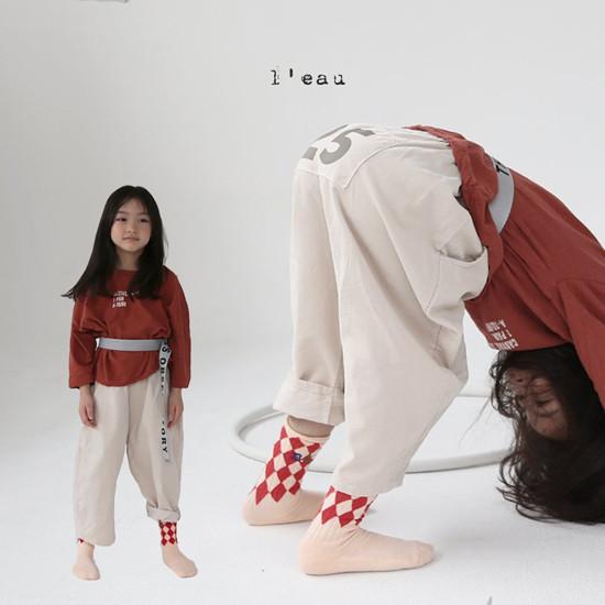 L'EAU - Korean Children Fashion - #Kfashion4kids - 25 Pants