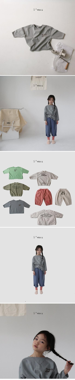 L'EAU - Korean Children Fashion - #Kfashion4kids - 32 Tee - 2