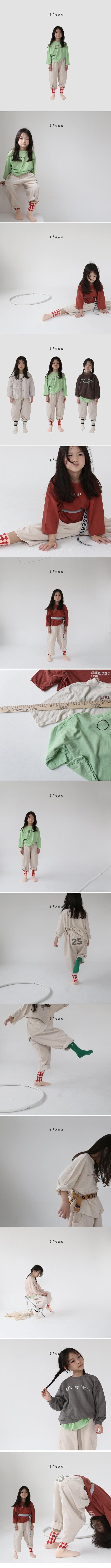 L'EAU - Korean Children Fashion - #Kfashion4kids - Round Tee - 2